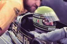 Brian Henton JPS Lotus 72 British GP 1975
